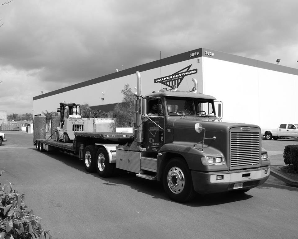 Walker Bros. Machinery Moving